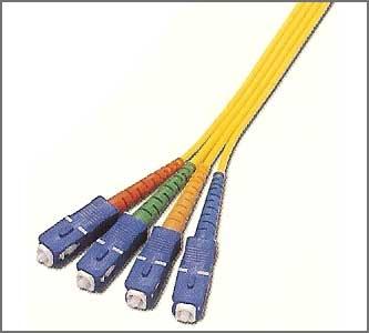 Fiber optic patch / jumper cords.