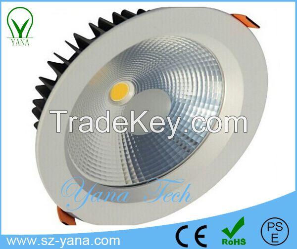 7W 12W 15W 18W 20W 25W 30W COB SMD CE ROHS IP44 led residential light/ led downlight