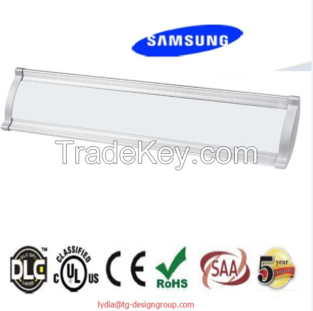 UL cUL DLC qualified 80W 120W 160W 200W LED high bay light, linear high   bay, high bay tube for industrial lighting