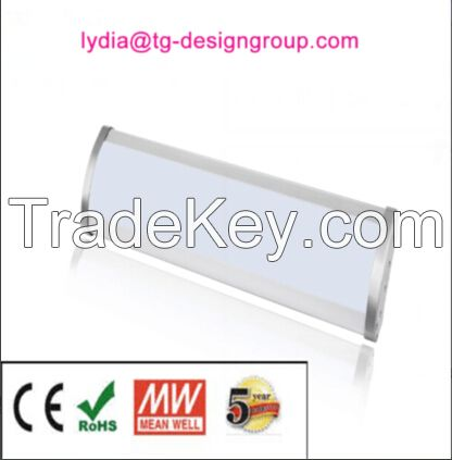 UL approved linear led high bay 200W, 150w high bay light, linear high bay, high bay tube suspending fixture,