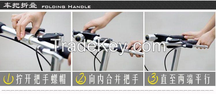 Folding outdoor bicycle /14 inch mini folding bike