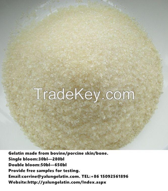 Edible gelatin/Food additive/yogurt gelatin