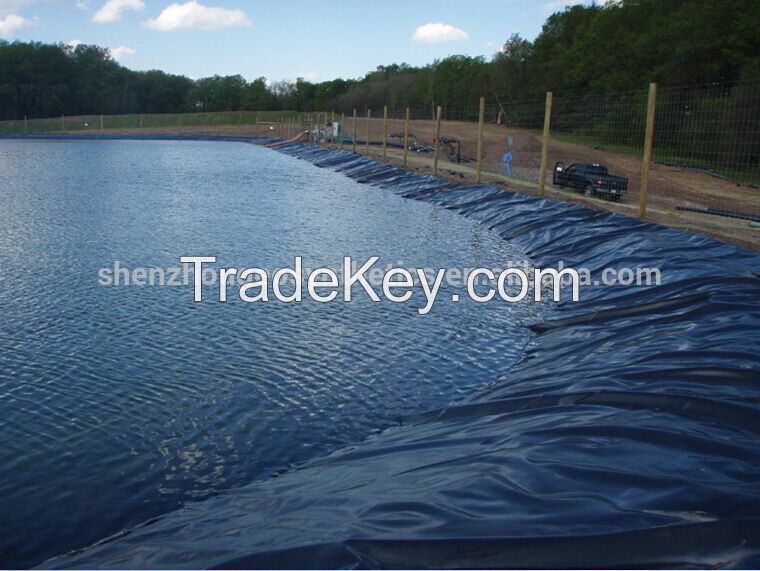 HDPE Impermeable Geomembrane for pond liner/dam liner