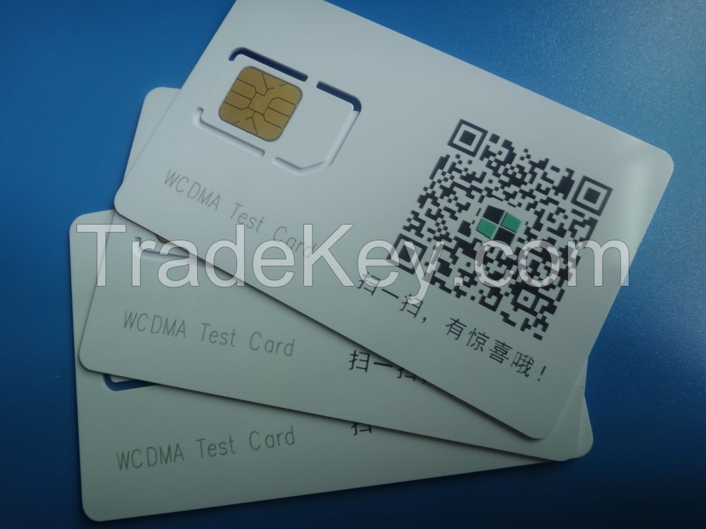 3G Mobile Phone Test Card (3G Test SIM Card) WCDMA for Antritsu