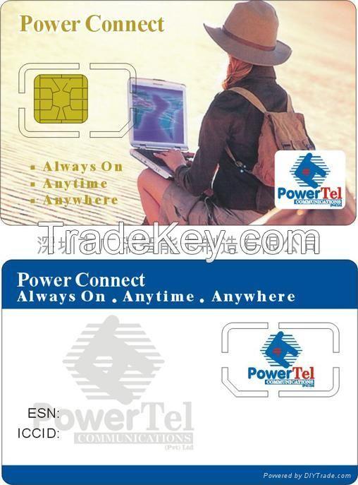 CR80 SIZE GSM WCDMA LTE blank sim card