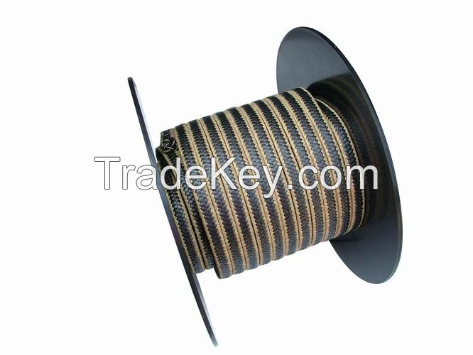 SL-P013 | Reinforced Aramid Graphite PTFE Packing