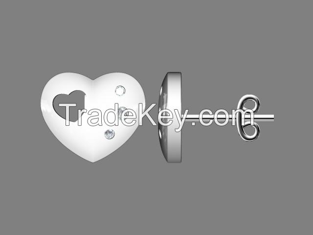 Infinite fashion silver ring designs for girl 925 silver diamond ring
