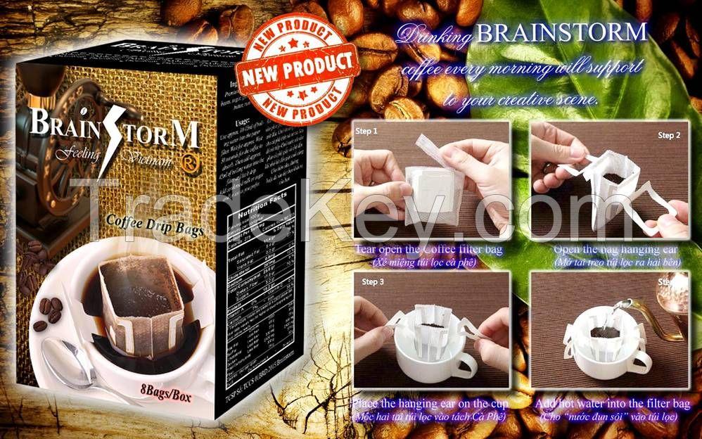 Drip bag Coffee (Vietnam Coffee)