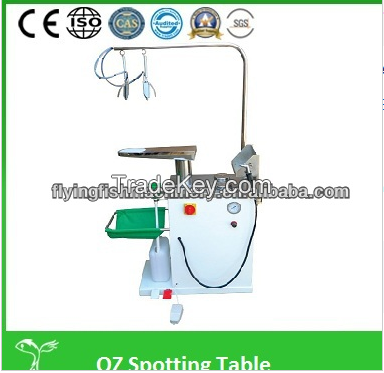 Professional Laundry Garment spotting table Stain Removal Machine