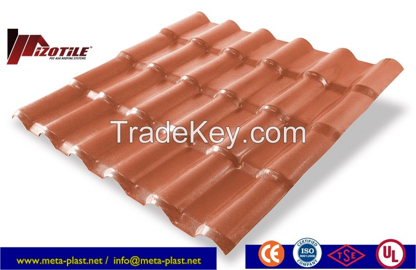 Izotile Polymer/Asa Roofing Systems