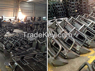 Side steps, Running Boards, Bumpers, Bull Bars, Grille Guards, Hitches, Racks, Mounting Bracket, Logistics Trolleys and also Fabricate any Steel Parts or Fitting