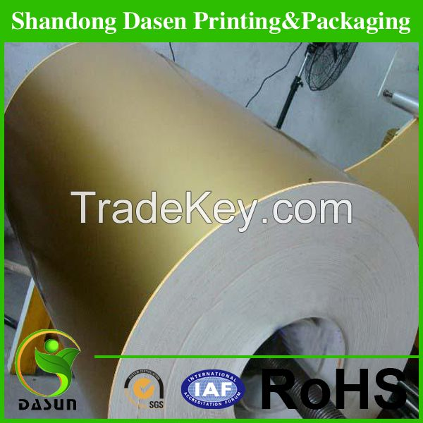 vacuum metallized paper, laser paper for cigarette box and beer lable