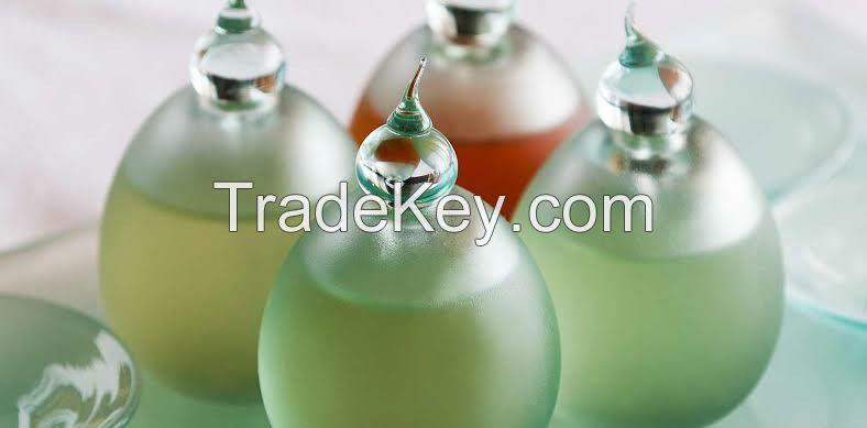 Organic and natural massage oils