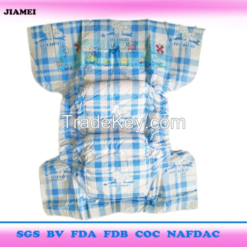 Disposable baby diapers with Factory price