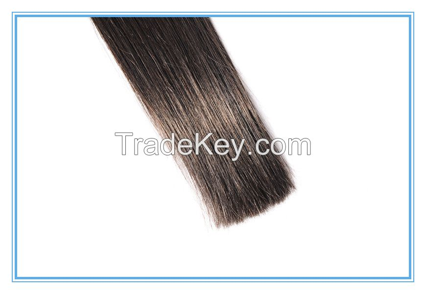 Factory price wholesale pure indian remy virgin human hair weft