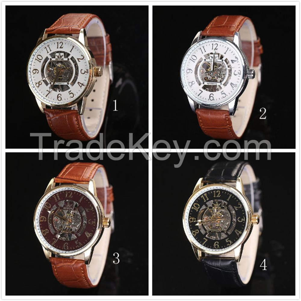 Wholesale Alibaba SEWOR Watch Fashion Mechanical Wrist Watch Vogue Watch 2016 Homme Montre Automatique