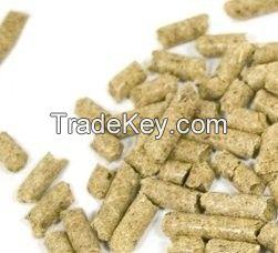 Soybean Husk Pellets