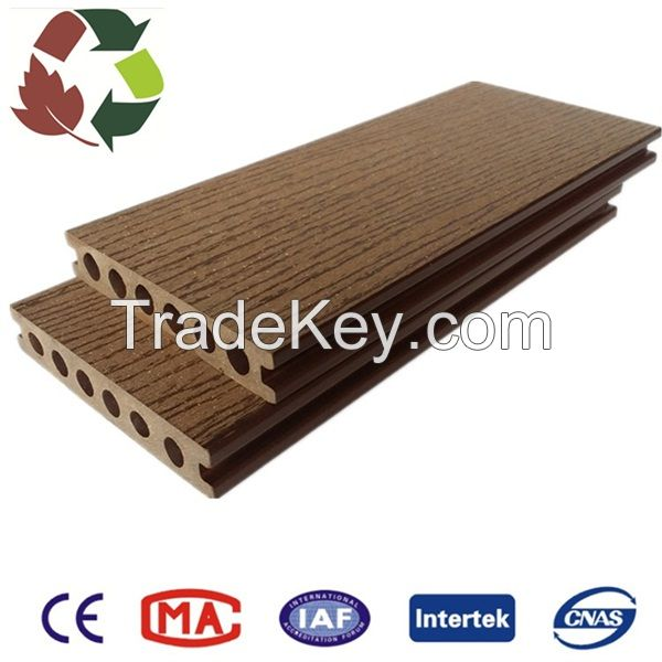 Anti-corrosive, waterproof outdoor wood plastic composite deck wpc deck wpc floor