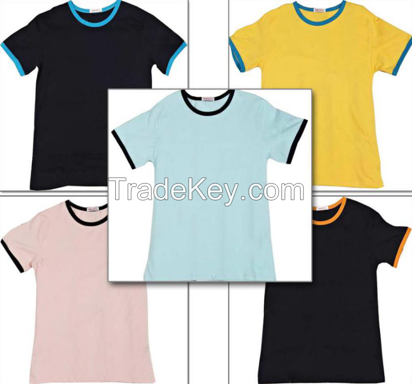 Short sleeved T-shirt fashion