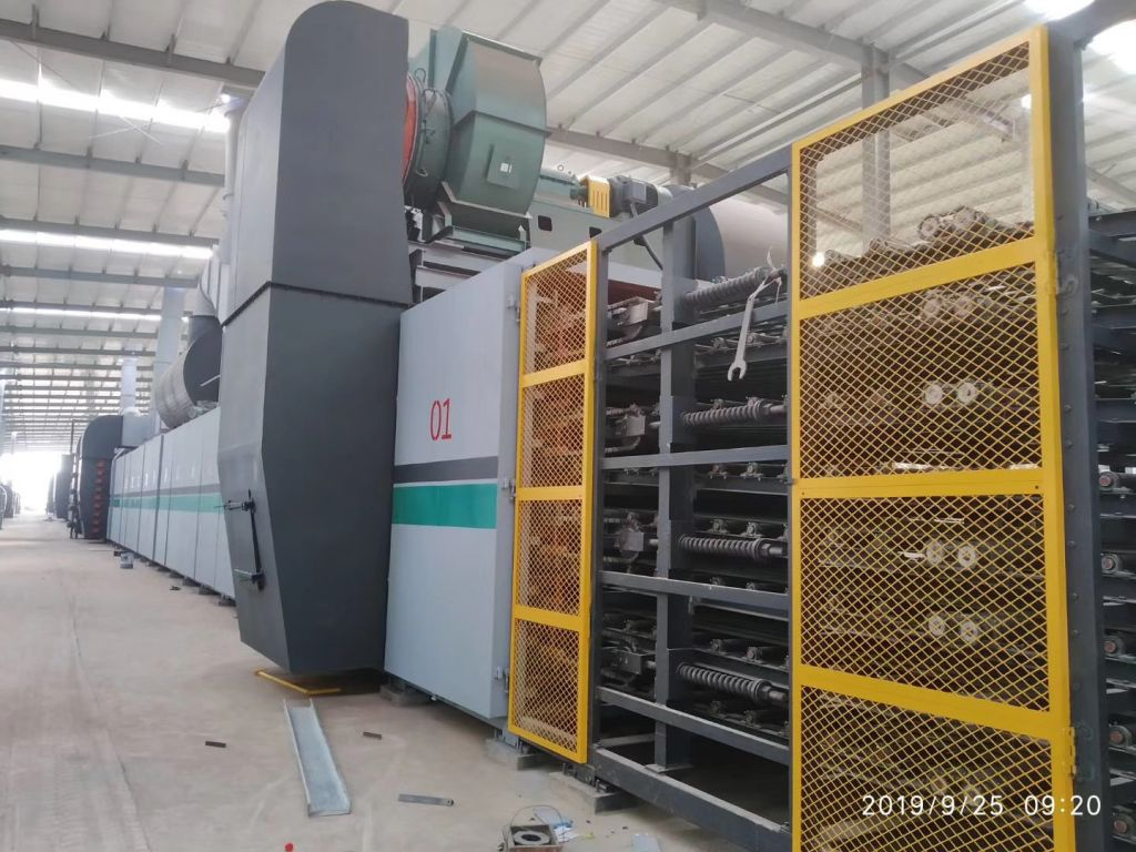 High Capacity Mineral Fiber Ceiling Board Production Line