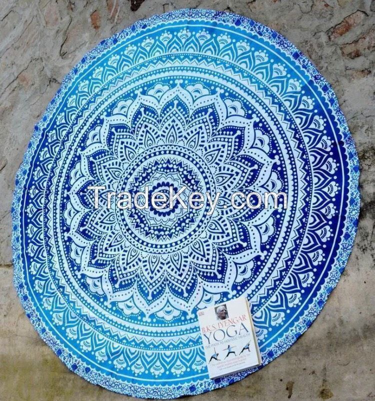 ROUNDIE OMBRE YOGA MAT BEACH USE 42 INCH