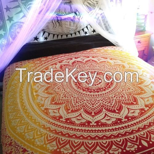 Ombre-Indian-Mandala-Tapestry-Wall-Hinging-Hippie-Queen-Bedding-Bedspreads-Throw     Ombre-Indian-Mandala-Tapestry-Wall-Hinging-Hippie-Queen-Bedding-Bedspreads-Throw  Have one to sell? Sell now Details about  Ombre Indian Mandala Tapestry Wall Hingi