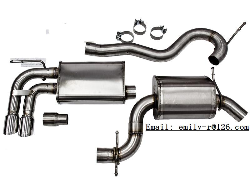 exhaust system / muffler / S-pipe / manifold / tips