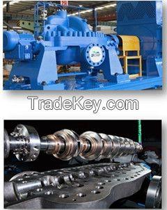 API610 BB3 Multistage heavy duty axially split casing centrifugal pump