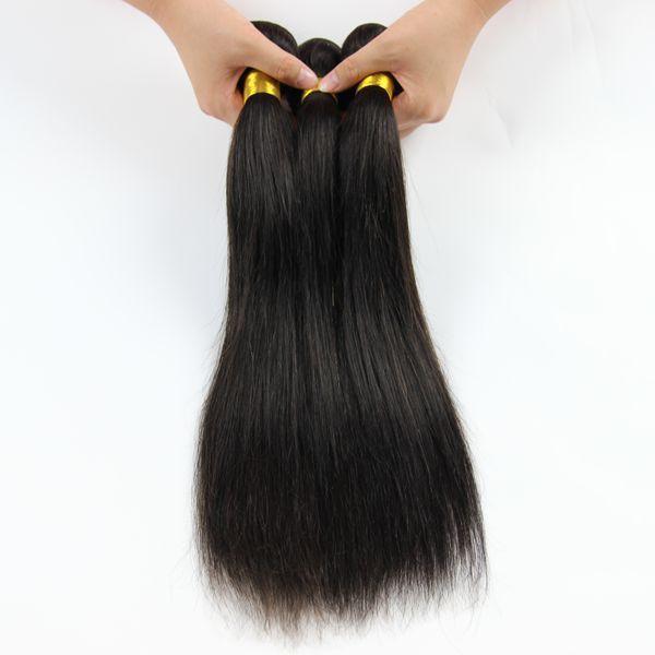 Natrual Black Brazilian Straight Human Hair