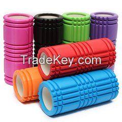 Colorful Hollow Healthy ways Massage body Foam Pilates Yoga column yog