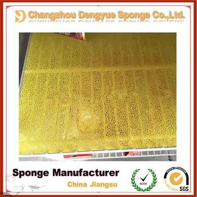eco-friendly polyurethane antibacterial refrigerator filter sponge