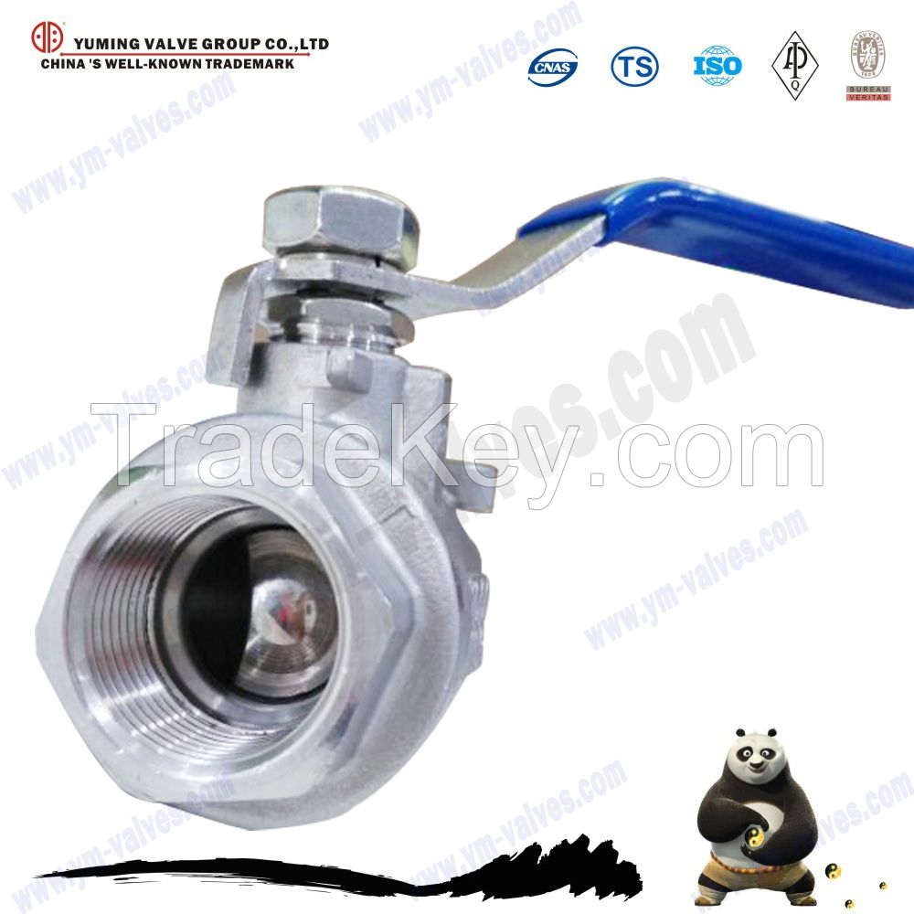 cf8m cf8 stainless steel 304/316 ball valve for water