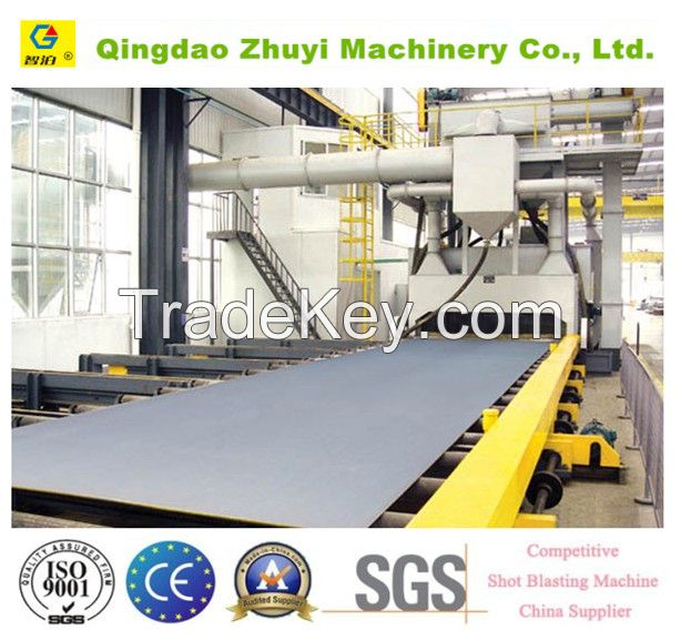 high quality roller through type shot blasting machine/abrator