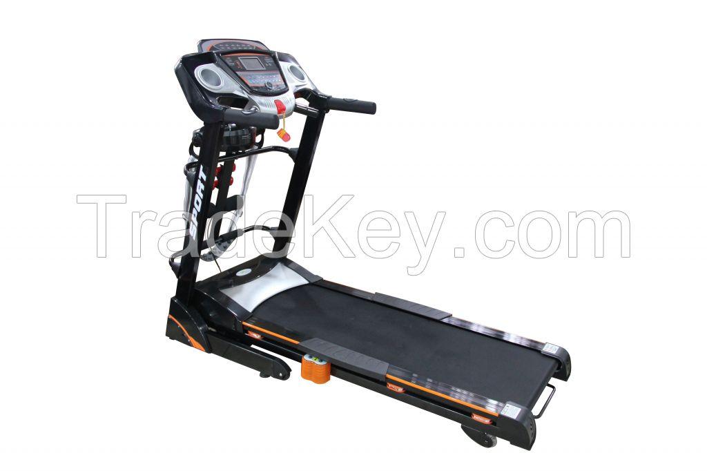 2.0HP home use stylish motorized treadmill
