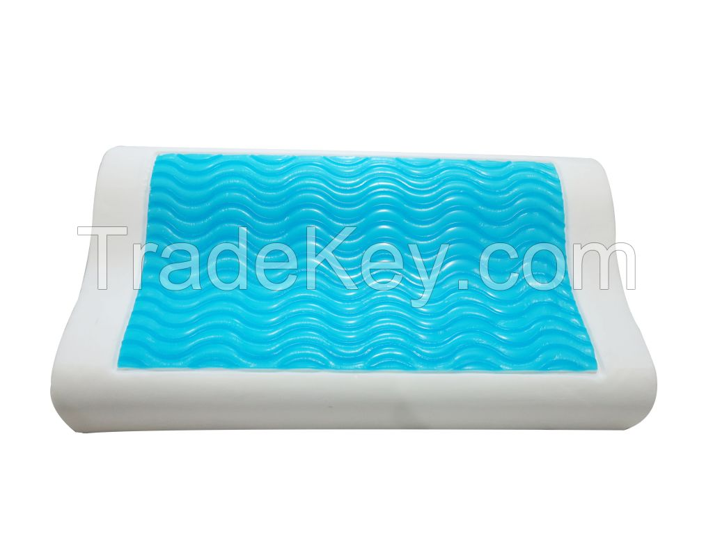 Summer hot-sale gel memory foam pillow