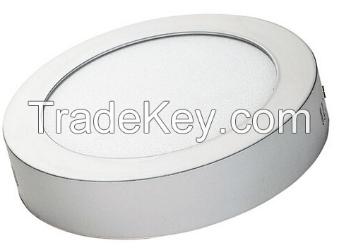 Circular Panel Lights with open installation