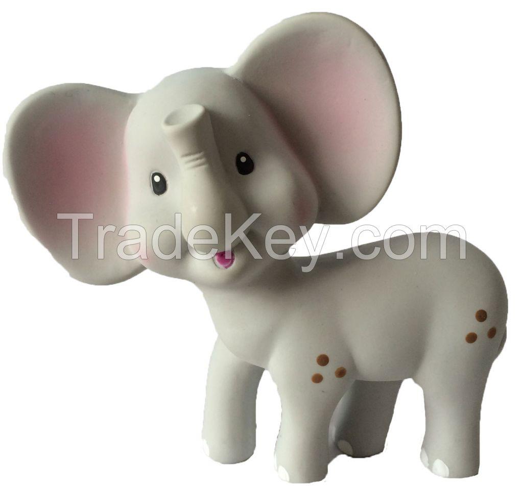 Elephant baby teether