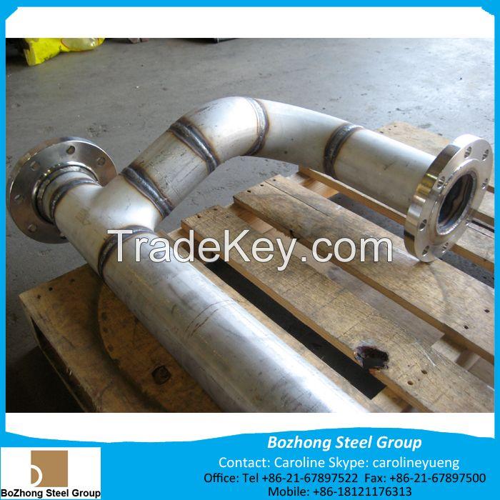 Qulity shipping machinery SUS316Ti 316Ti S31635 1.4571 04Cr17Ni12MoTi20 stineless pipe tube