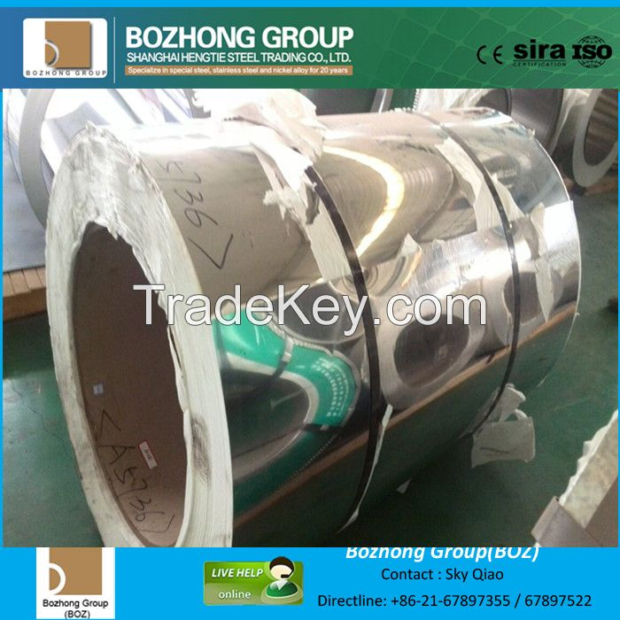409, 409L, 410,410S,430 stainless steel coil