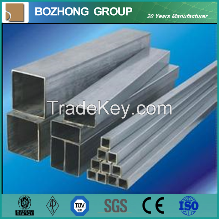 6061 Aluminum Square Pipe in large China stock