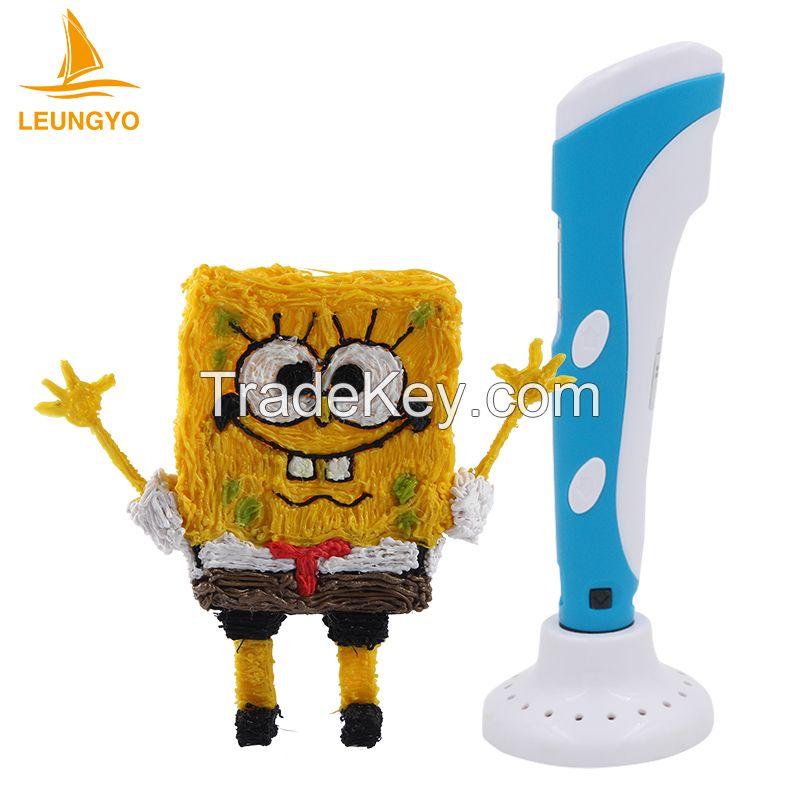 3D pen new kids toy, wholesale cheap china price 3d printer pen, 3d drawing pen
