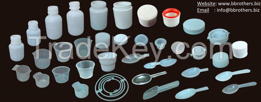 Plastic Jar for tablets
