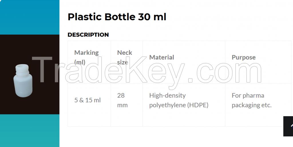 90 ml / 30 ml bottle