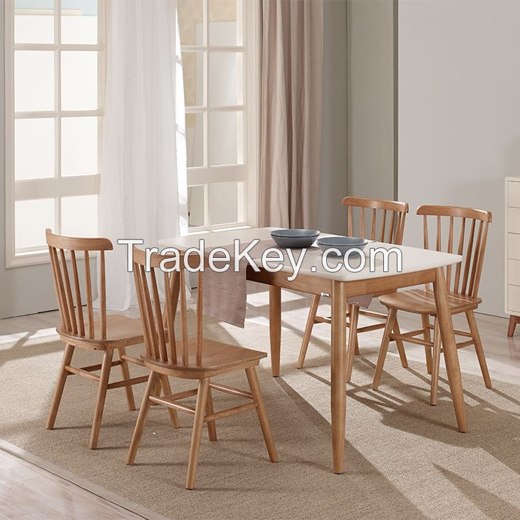 Nordic Style Dining Room Furniture Dining Sets with table and chair