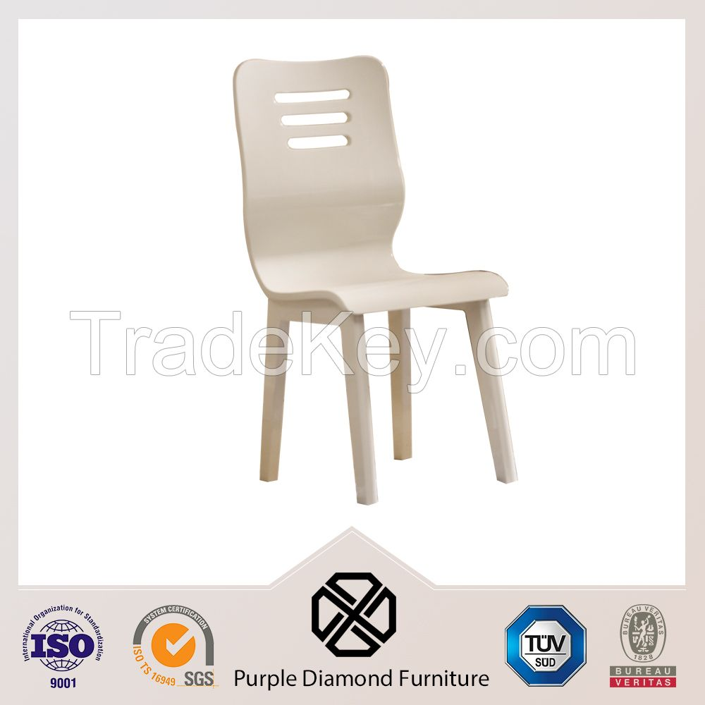 Fashion Dining Chair Rubber Wood Restaurant Chair