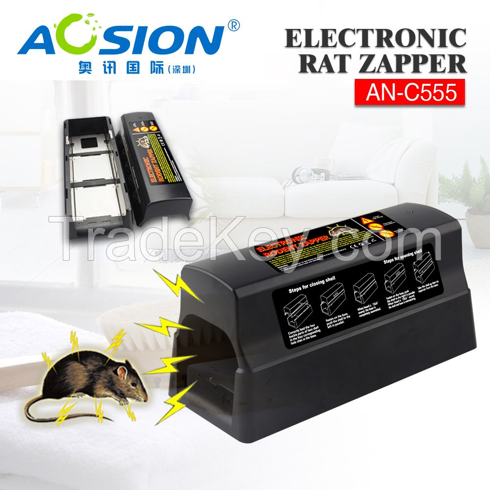 eco-friendly rats killing electronic zapper light mice killer pest repeller indoor outdoor use