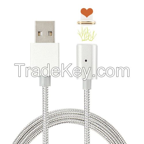 wholesale products micro magnetic usb charger adapter usb charging cable for iPhone 6s Plus iPad iphone 7 phone etc