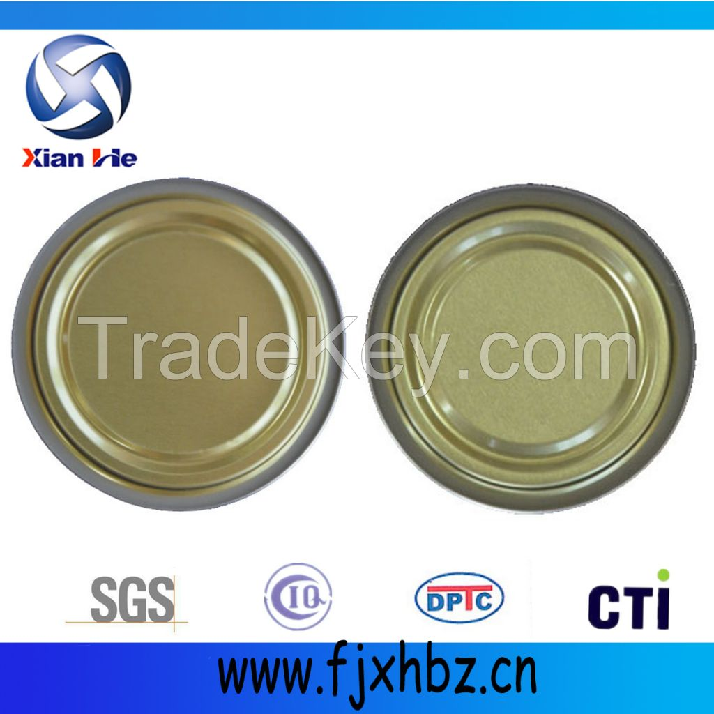 200D 50mm  tin can ends for canned food