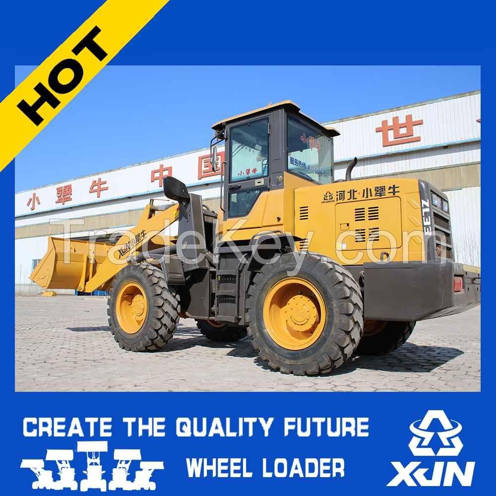 1cbm 2tons bucket capacity ZL33 Hydraulic joystick control China Mini Wheel Loader