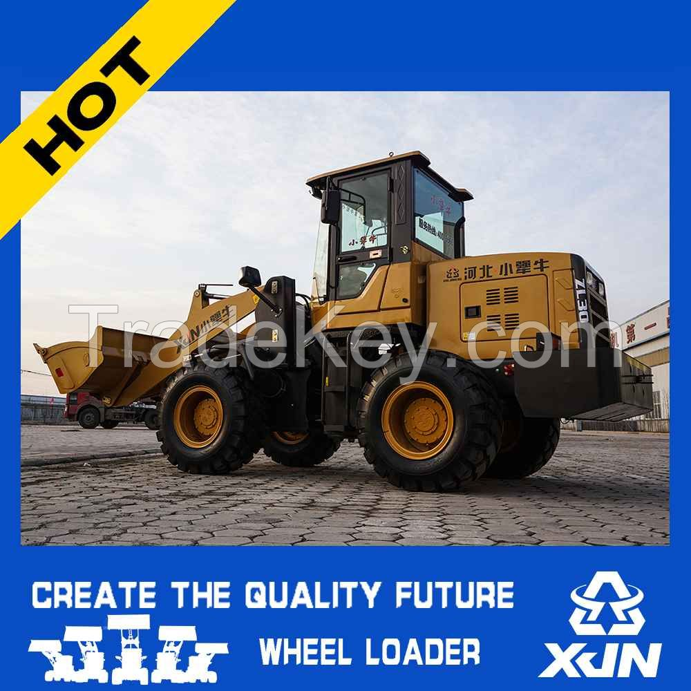 CE certificated professional front wheel loader ZL30